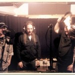 Recording backing vocals for Life Sentence - (c) First Avenue Studios