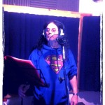 Recording lead vocals for Life Sentence - (c) First Avenue Studios