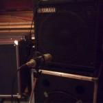 Recording bass for Life Sentence - (c) First Avenue Studios