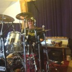 Recording drums for Life Sentence - (c) First Avenue Studios